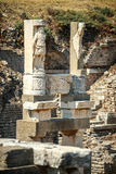 Turkey, Ephesus, ruins of the ancient roman city Stock Images