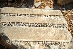 Turkey, Ephesus, ruins of the ancient roman city Royalty Free Stock Image