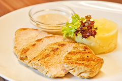 Turkey escalope Royalty Free Stock Photography