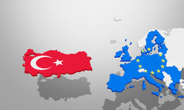 Turkey EU deal is accepted Stock Photography