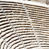 In turkey europe aspendos the old theatre abstract texture of st Stock Images