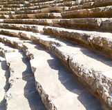 In turkey europe aspendos the old theatre abstract texture of st Stock Photos