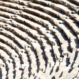 in turkey europe aspendos the old theatre abstract texture of st Royalty Free Stock Photos