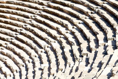 in turkey europe aspendos the old theatre abstract Royalty Free Stock Images