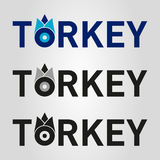 Turkey evil eye logo Royalty Free Stock Photography
