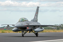 Turkey F-16 fighter Royalty Free Stock Photo