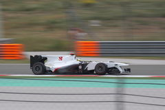 Turkey F1 2010 Pedro de la Rosa Royalty Free Stock Photography