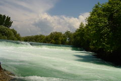 Turkey, a falls  Manavgat. Stock Image