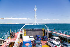Turkey. Ferry in the Strait of Dardanelles Stock Photography