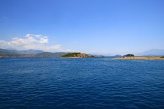 Turkey, Fethye. Turkey, Fethiye resort, mediterranean sea Royalty Free Stock Photography