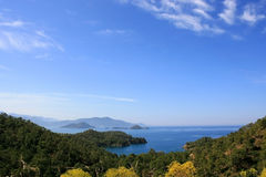 Turkey, Fethye. Turkey, Fethiye resort, blue lagoon Stock Photography