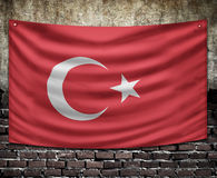 Turkey flag Royalty Free Stock Images