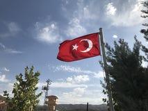 Turkey Flag stock image