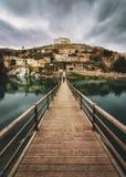 Turkey gaziantep halfeti bridge silhoutte