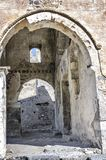Turkey, the ghost town of Kayakoy, the Greek church of the 17th century, internal contents. A fragment of the building Stock Photo