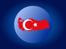 Turkey globe Stock Photography