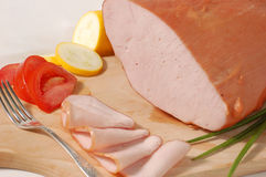 Turkey Ham Royalty Free Stock Photography