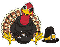Turkey and hat Stock Photography