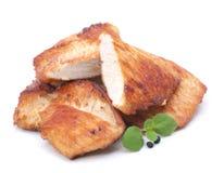 Turkey hen escalope Royalty Free Stock Image