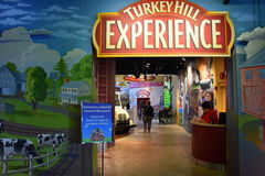 Turkey Hill Experience in Columbia, Pennsylvania stock photography