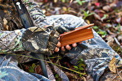 Turkey Hunter stock photography