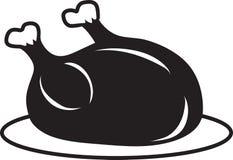 Cooked Turkey icon stock illustration
