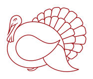 Turkey  icon Royalty Free Stock Image