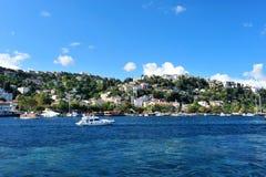 Turkey, Istanbul. Istanbul view - Turkey travel architecture background Royalty Free Stock Image