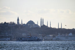 Turkey, Istanbul, the Blue Mosque Royalty Free Stock Photo