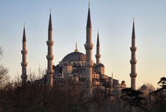 Turkey, Istanbul, the Blue Mosque Stock Images
