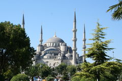 Turkey. Istanbul. Blue mosque. In summer Stock Photo