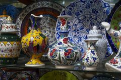 Turkey, Istanbul, Grand Bazaar Royalty Free Stock Photography