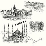 Turkey, Istanbul Royalty Free Stock Photography
