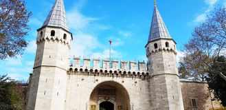 Turkey Istanbul Historical Buildings royalty free stock image