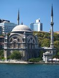 Turkey. Istanbul. Mosque Royalty Free Stock Photos