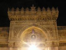 Turkey istanbul night. Mosque night light Stock Photos