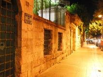 Turkey istanbul night. Mosque night light Royalty Free Stock Photo