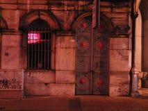 Turkey istanbul night. Mosque light istanbul Stock Photos