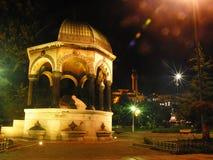 Turkey istanbul night. Mosque night light sultan ahmet Stock Photo