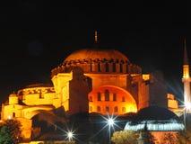 Turkey istanbul night Royalty Free Stock Image