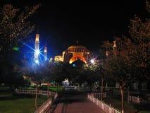 Turkey istanbul night Royalty Free Stock Photo