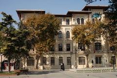 22.10.2016 Turkey, Istanbul - People walking on Istambul street royalty free stock photography