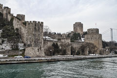 Turkey, Istanbul, the Rumeli Fortress Stock Photo