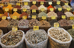 Turkey, Istanbul, Spice Bazaar Royalty Free Stock Photos