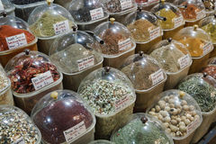 Turkey, Istanbul, Spice Bazaar Stock Photos