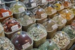 Turkey, Istanbul, Spice Bazaar Stock Photos