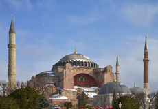 Turkey, Istanbul, St. Sophia Cathedral Stock Images