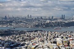 Turkey, Istanbul, view of the city royalty free stock images