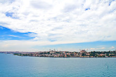 Turkey, Istanbul, view of the city Royalty Free Stock Photography