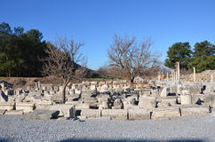Turkey, Izmir, Bergama in ancient Greek Hellenistic different A nice introduction, this is a real civilization, baths Royalty Free Stock Images